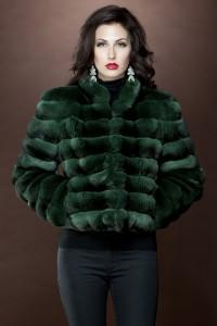 Emerald-Green-Chinchilla-Fur-Jacket
