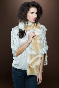 Pologeorgis Coyote Fur Scarf | ML Furs