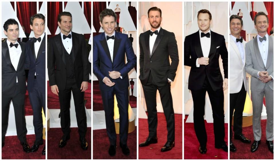 Male Oscar Looks 2015