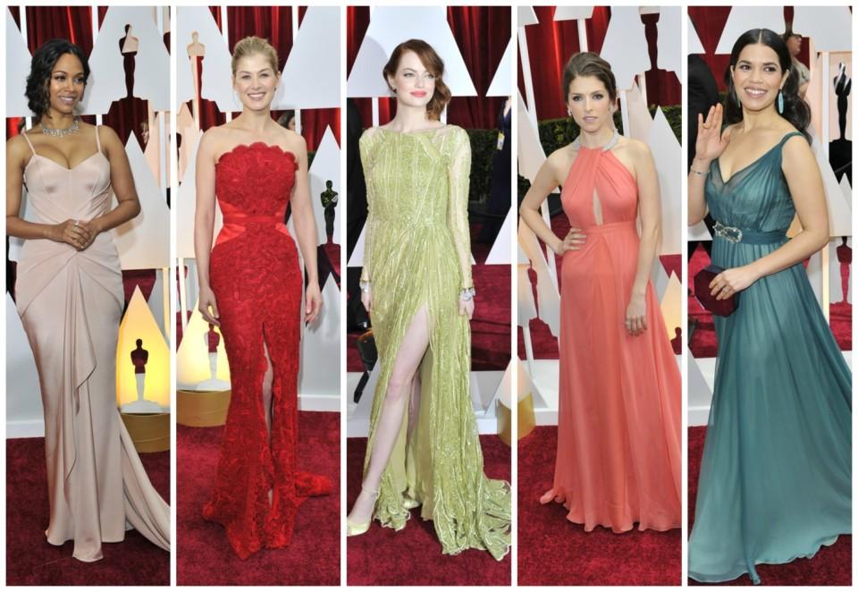 Best Dress Ladies Academy Awards 2015