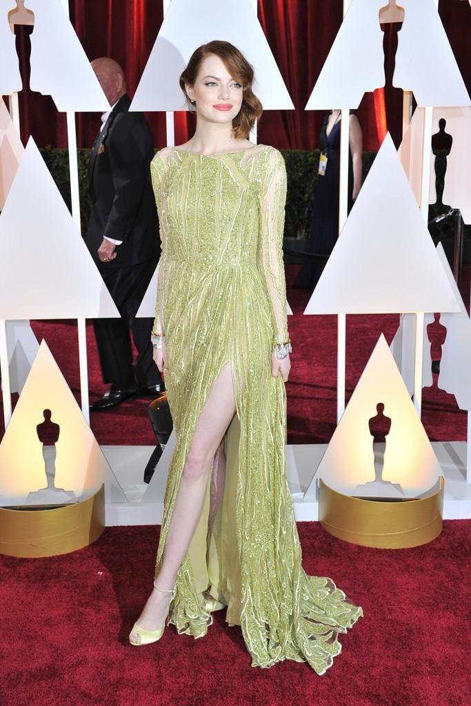 Emma Stone, Best Dressed Academy Awards 2015