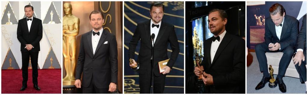 Leonardo DiCaprio Academy Award Winner
