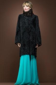 Russian Broadtail & Sable Mid-Length Fur Coat   ML Furs